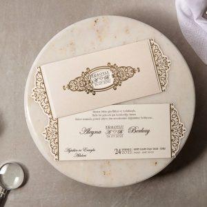 Wedding Davetiye 8221