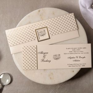 Wedding Davetiye 8268