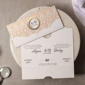 Wedding Davetiye 8307