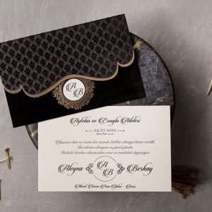 Wedding Davetiye 8327