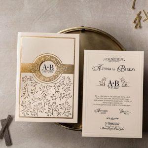 Wedding Davetiye 8390