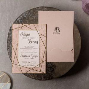 Wedding Davetiye 8441